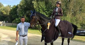 Das glückliche Team mit Trainer Tobias Sawatzki