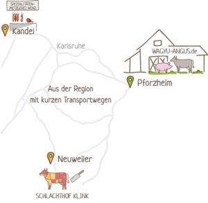 Fleisch aus der Region Pforzheim nachhaltig produziert