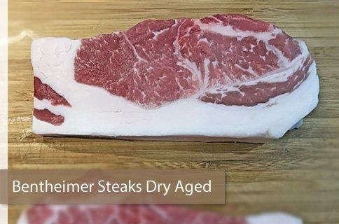 Bunte Bentheimer Steaks Dry Aged